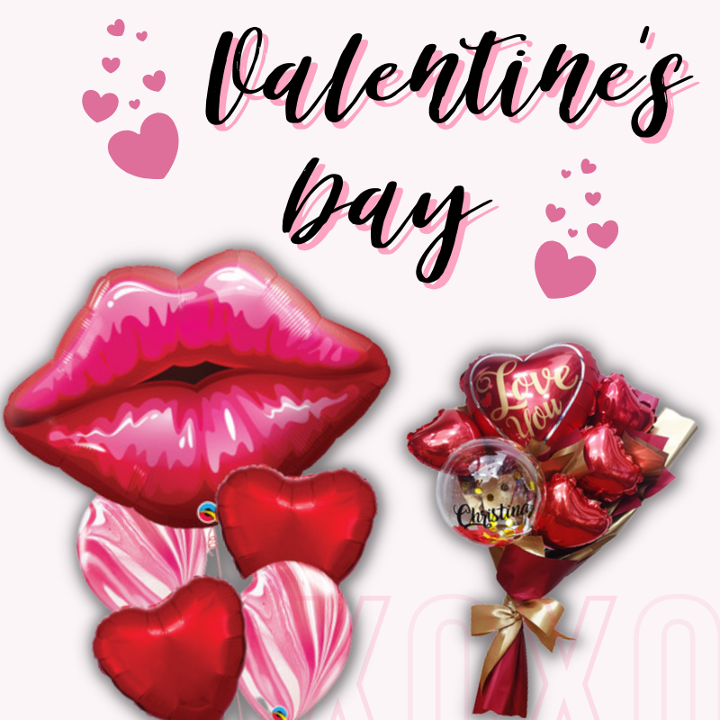 Give Fun Singapore Helium Balloons Party Supplies Decoration Birthday Same Day Delivery Self Pick Up Oxley Bizhub 2 best Gift balloon for woman man Valentine's Day celebration bouquet flower