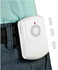 Wireless Vibrating Switch Adapted Caregiver Alert Pager Chime for people with disabilities and senior care has vibration that is perfect  for hard of hearing caregivers