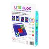 Lite Blox educational light up block set