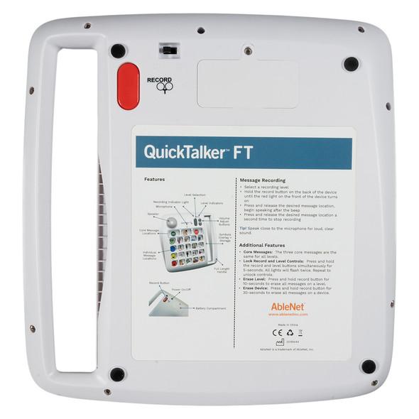 QuickTalker23 FT back view