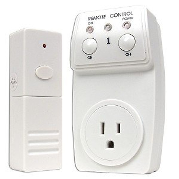 Remote Outlet Controller - Switch Adapted