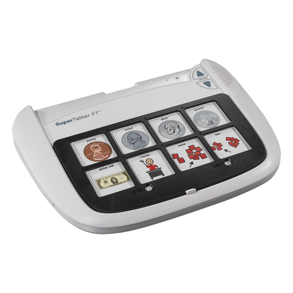 SuperTalker Progressive Communicator device for people with speech impairments.