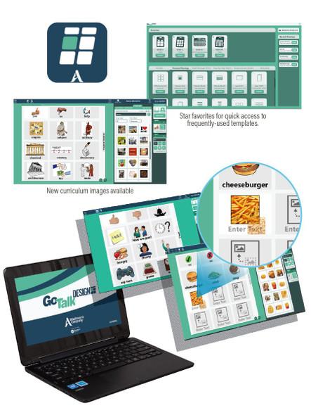 GoTalk DESIGN overlay maker software