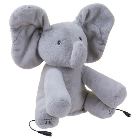 Flappy the Elephant Switch Adapted toy accepts up to two switches so kids with disabilities can play, too.