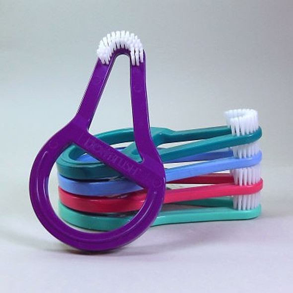 Dex T toothbrushes for older kids and adults with disabilities