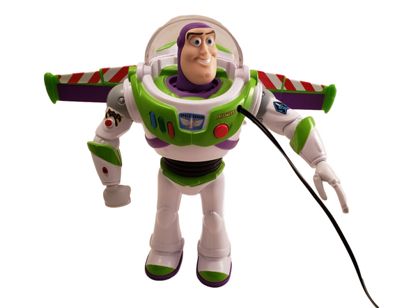 Switch adapted  Buzz Lightyear toy people with disabilities