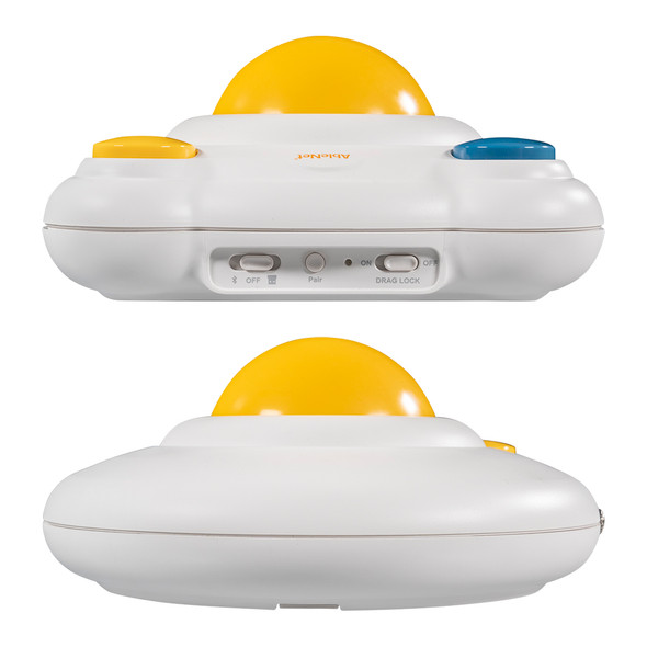 Front and back views of BIGtrack Mouse Wireless version
