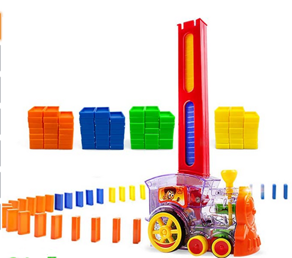 Domino Train has been switch adapted so kids with disabilities can play, too!