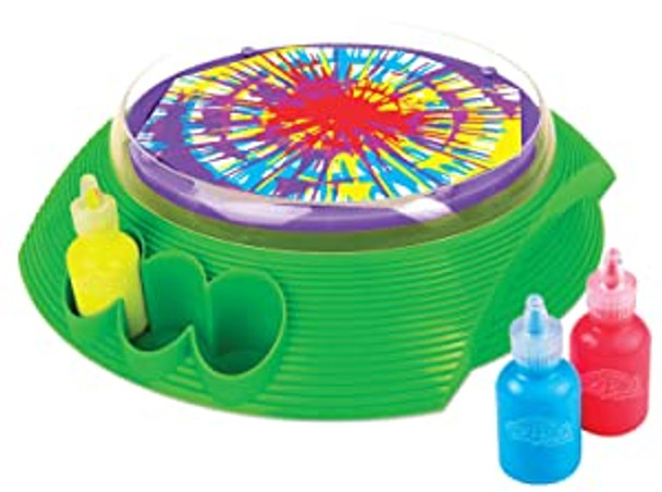 Spin Art Switch Adapted Fun for people with disabilities