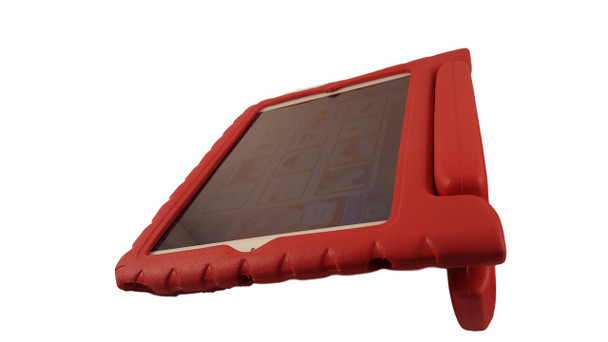 Rugged Rubber iPad Case angle slant