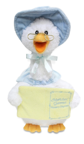 Mother Goose switch adapted toy for kids with disabilities.