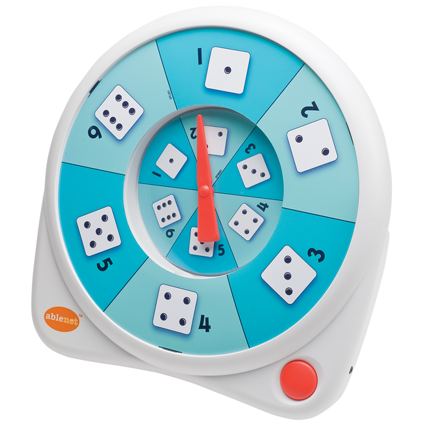 All-Turn-It Spinner random game spinner for people with disabilities.