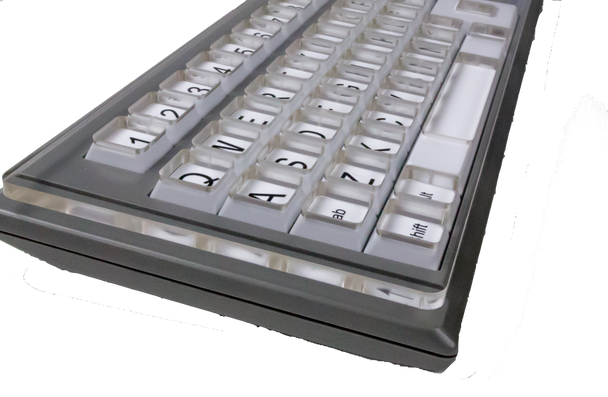 Keyguard for myBoard (lowercase and uppercase boards)