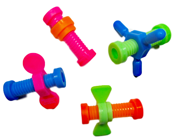 Screw-It Pencil Toppers