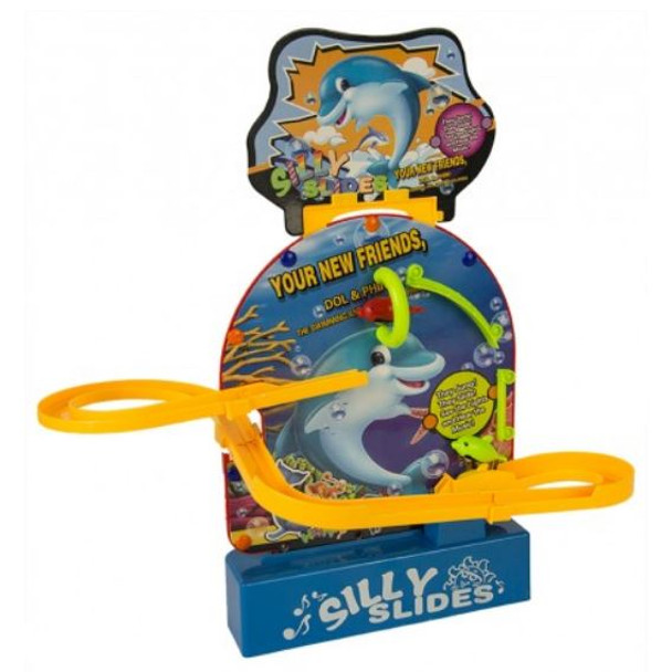 Switch adapted Dolphin Silly Slides toy