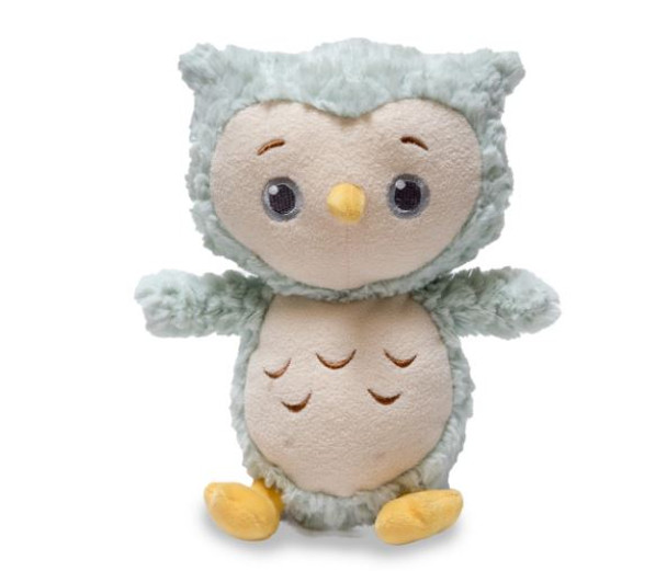 Twinkles switch controlled light up owl with music and volume control.