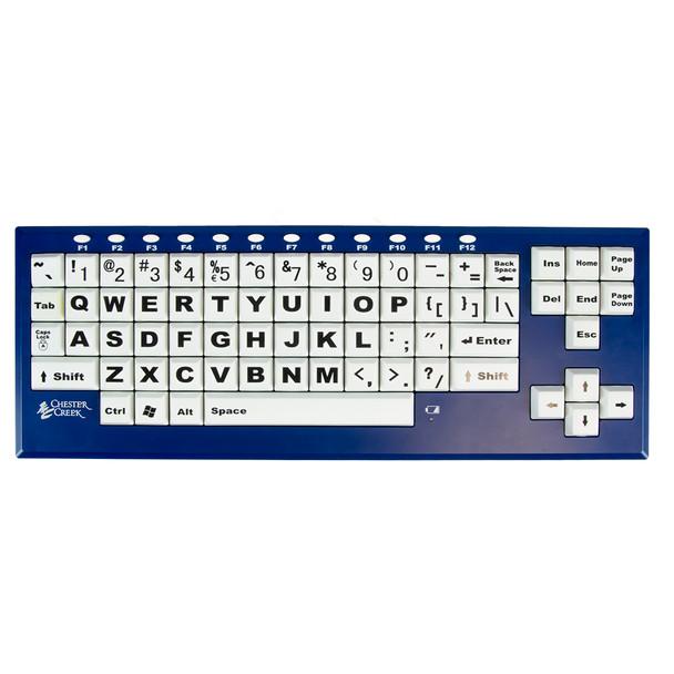 BigBlu Visionboard Large Key Wireless Keyboard