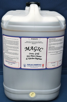 Magic Oven, Grill, Hot Plate Cleaner and Kitchen Degreaser 25 Litres