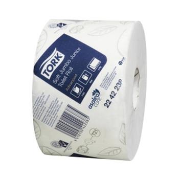 Tork Advanced Toilet Jumbo Junior Roll 2 Ply 115M x 18 Rolls (2242238) Tork Products