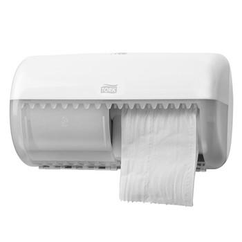 Tork Dispenser Toilet Paper Roll Twin White System T4 (557000)