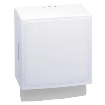 Interfold Towel Dispenser - White Enamel