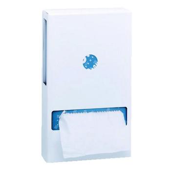 Interfold Toilet Tissue Dispenser White
