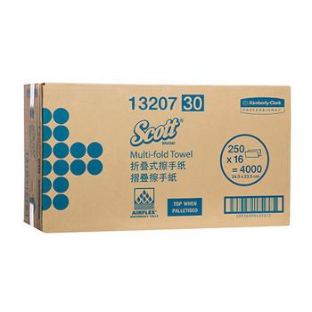 Scott Multifold Hand Towel 16 Packs x 250 Towels (13207)
