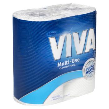 KLEENEX® VIVA® Kitchen Towel (44301), White Paper Towels, 6 Packs / Case