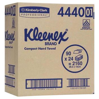 Kleenex Compact Hand Towel 24 Packs x 90 Towels (4440)