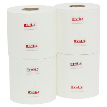 Wypall L10 Heavy Duty Centrefeed Wipers 4 Rolls x 300 Metres (94120)
