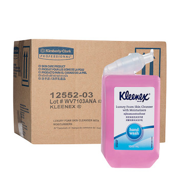 Kleenex Luxury Foam Skin Cleanser with Moisturiser 6 x 1L (12552)