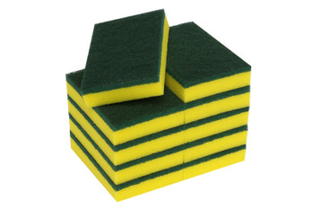 Scourer Sponges 150mm x 100mm Pack of 10