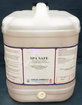 Spa Safe Bath Hygiene Cleanser Disinfectants 20 Litres