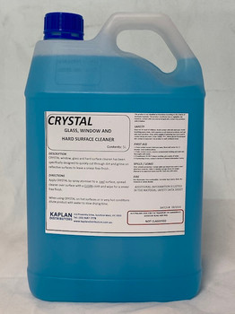 Crystal Glass, Window and Hard Surface Cleaner 5 Litres