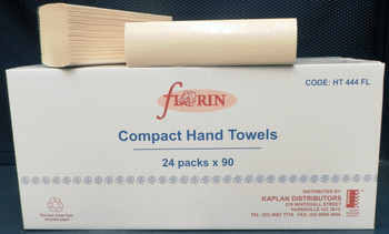 Florin Compact Hand Towel 24 packs x 90 towels