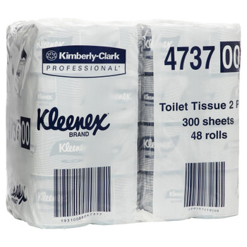 Kleenex Executive Toilet Tissue 300 Sheets x 48 Rolls (4737)