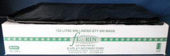 Florin 120 Litres Strong Bin Liners QTY 200 Bags (BL120FL) Florin Products