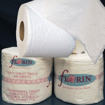 Florin Green Premium Toilet Paper 2 Ply 400 Sheets x 48 Rolls (FGP400) Florin Products