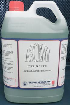 Ascent Citrus Spice Air Freshener & Deodorant 5 Litres
