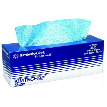 Kimberly Clark KIMTECH PREP KIMTEX Pop-Up Wipers (4130)