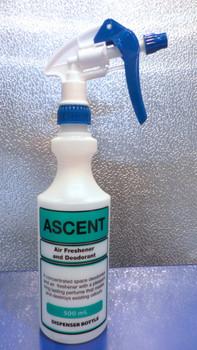 ASCENT Dispenser Bottle 500ml with Trigger
