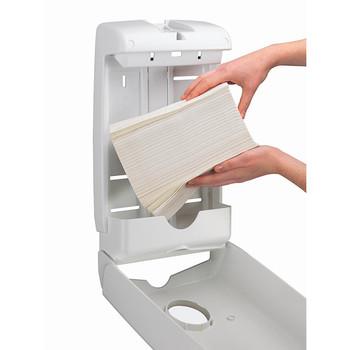 KIMBERLY-CLARK PROFESSIONAL® AQUARIUS® Paper Towel Dispenser (70240), Compact Hand Towel Dispenser