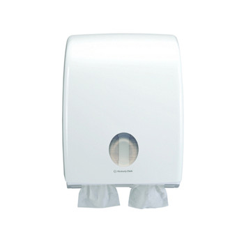 Kimberly Clark Aquarius Twin Toilet Tissue Dispenser (69900)