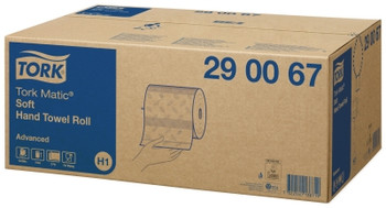 Tork Matic Soft Hand Towel Roll H1 System 6 Rolls (290067)