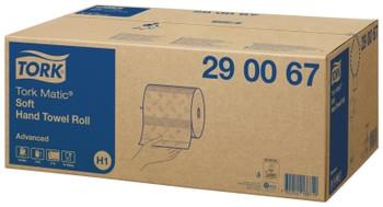 Tork Matic Soft Hand Towel Roll H1 System 6 Rolls (290067)