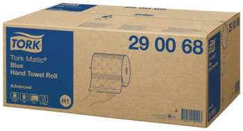 Tork Advanced Hand Towel Blue Roll H1 System 6 Rolls (290068)