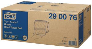 Tork Matic Green Hand Towel Roll H1 System 6 Rolls (290076)