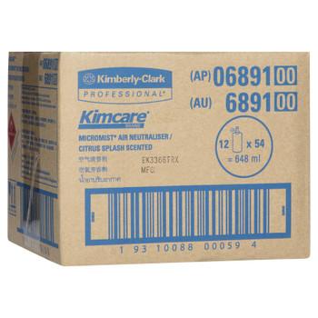 KIMCARE MICROMIST Citrus Splash Fragrance Refill 12 x 54ml (6891)