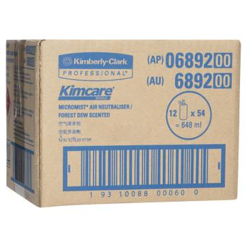 KIMCARE MICROMIST Forest Dew Fragrance Refill 12 x 54ml (6892)