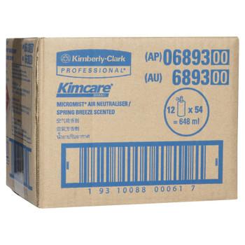 KIMCARE MICROMIST Spring Breeze Fragrance Refill 12 x 54ml (6893)